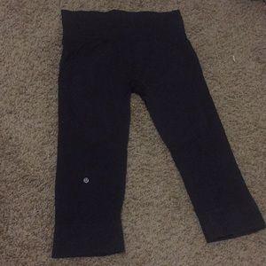 Lululemon Blue Crop pants